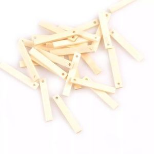 BOGO Free🌻25natural wood pcs for jewelry  making